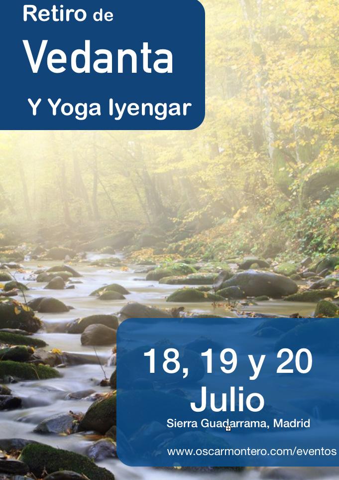 retiro de vedanta y yoga iyengar