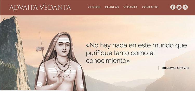 presentacion-web-vedanta